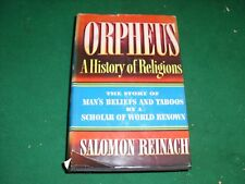 Orpheus (A History of Religions Black and Gold edition December 1941 4th printin