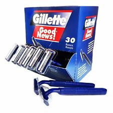 Gillette Good  News Box Of 30 Disposable Razor Blades Shaving Brand New