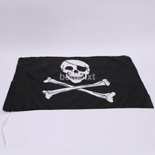Cool Large Skull And Crossbones Pirate Flag Hanging With Grommets FR