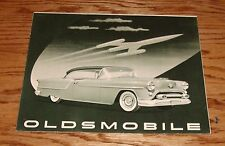 Original 1954 Oldsmobile 88 & Ninety-Eight Foldout Sales Brochure 54