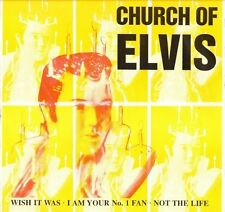 "CHURCH OF ELVIS/SHERIFF B wish it was GLV 101 6 track ep uk 1993 12"" PS EX/EX"