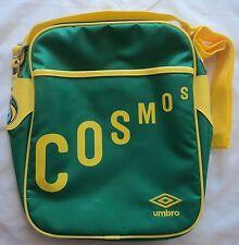 NEW York Cosmos Verde Retro Messenger Bag by Umbro Nuovissimo Con Etichette
