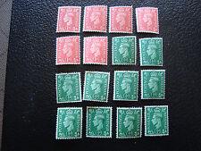 ROYAUME-UNI - timbre yvert et tellier n° 209A 210A n* (A8)stamp united kingdom