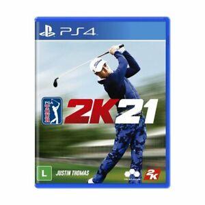 PGA Tour 2K21 PS4 - Brand New - Sealed - Region Free - English - Physical