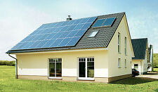 SHARP 1.53 KW Solar Panels Pack: 6 X 255 W Solar Panels FREE EU Delivery