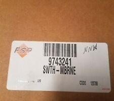 New listing Brand New Whirlpool Dishwasher Membrane Switch Assembly Part # 9743241