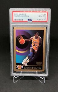 1990 Skybox Magic Johnson PSA 10 #138 Lakers Documentary Coming Soon