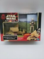 Star Wars Episode 1 Armored Scout Tank with Battle Droid by Hasbro 1999 MIB