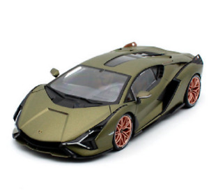 Bburago 1:18 Lamborghini Sian FKP 37 Hybrid Diecast MODEL Racing Car NEW IN BOX
