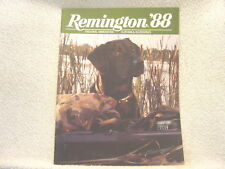 Remington Firearms And Ammunition 1988 gun catalog