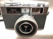 VINTAGE Ricoh 35 S rangefinder Film Camera /40mm F2.8 From Japan #218