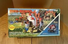 Vintage Tyco Dino Riders Stegosaurus with Tark and Vega