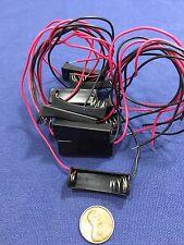 "10 Pieces 12V Clip Holder Box Case 23A A23 Battery 6"" Lead Black Alkaline b20"