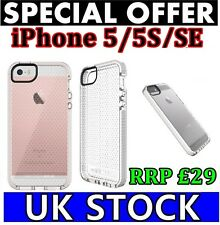 Se per iPhone 5 5S Bianca Tech21 impactology EVO mesh MOBILE COVER NUOVO di zecca