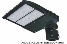 150w LED Parking Lot shoebox Light Fixture 5700KUL DLC approved - 5yrs warranty.