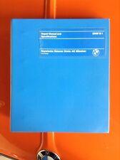 Original BMW e26 M1 Factory Repair Workshop Service Manual Binder