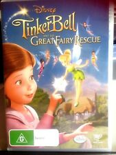 Tinker Bell And The Great Fairy Rescue (DVD, 2010)