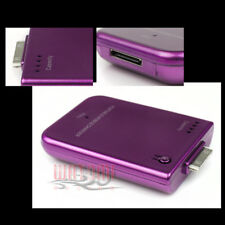 2800MAH EXTERNAL PURPLE BATTERY BACKUP CHARGER APPLE IPHONE 4S 4 3GS IPOD TOUCH