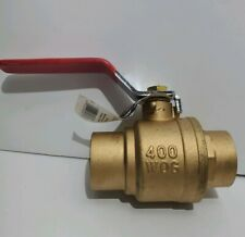 Proplus 252027 Full Port Ball Valve, Sweat, 1-1/2 In.