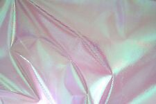 Pink Crystal Mermaid Unicorn Holographic Fabric Reflective PVC Barbie  Doll