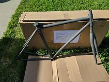 New several sizes emblem double butted CroMoly fixie bicycle lugged frame & fork