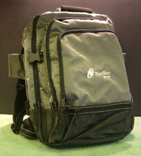 """Super lightweight 17"""" Laptop Backpack / Canvas Carry Case - Silver Grey - New"""