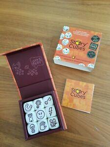 Rory's Story Cubes9Geschichtenwürfel Würfelspiel wie neu orange Geschichten