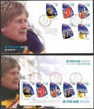 New Zealand 2009 Yachting sir Peter Blake set of 5 + S/S 2 FDC