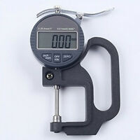 12.7mm Digital Micrometer Electronic Thickness Gauge Depth LCD Measuremen