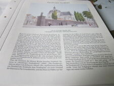 Archivio Amburgo 1 città immagine 1010 St. gertruden cappella 1830 Peter Suhr