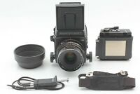 [N MINT + Release] Mamiya RB67 Pro SD 120 Film Back 127mm f3.8 Lens from JAPAN