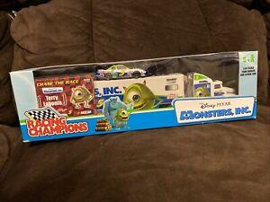 Disney Pixar Monsters Inc Team 1:64 Hauler & Car Terry Labonte Racing Champions