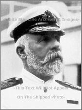 Photo: Captain EJ Smith In White Uniform: RMS Titanic