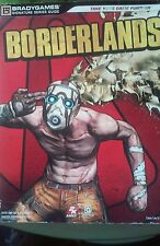 BORDERLANDS BY BRADY GAMES SIGNATURE SERIES GUIDE Xbox 360 PS3. Free Shipping