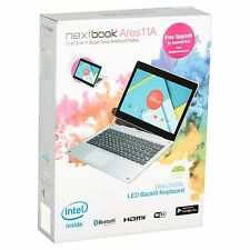 """*BRAND NEW* Nextbook Ares 11A 2-in-1 HD 11.6"""" Tablet 64GB QuadCore Backlit Keybo"""