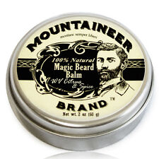 Mountaineer Brand Magic Beard Balm: Citrus & Spice Scent, 2 oz