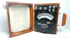 New Listingvintage Weston Ac Dc Ammeter Model 370 Untested Nice Usa