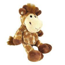 "Manhattan Toy Genna the Giraffe Plush 10"" Lovey Spotted Bean Bag Stuffed Animal"