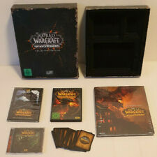 World of Warcraft Cataclysm Collectors Edition - Sammler - Komplett - Neuwertig