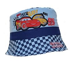Disney Cars Lightning McQueen Baby Boy Girl Sun Hat Cap Bucket Hat Blue 50 Cm