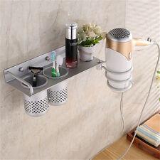 Multi-function Storage Rack Hair Drier Shelf Holder Wall Hanging Bathroom Shelve