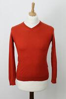 COS orange Pullover Jumper size M