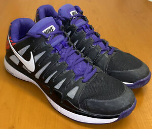 "NR! Nike Zoom Vapor 9 Tour ""Agassi Pack- Flame"" 488000-015 10.5 PRISTINE! EUC"