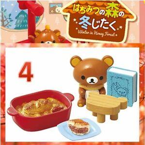 Re-Ment Sanrio Rilakkuma Bear Winter in Honey forest rement Miniature No.04