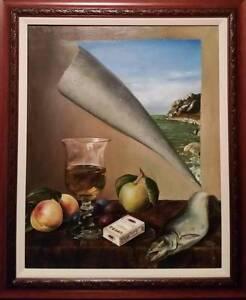 Igor Shishov (Russian), original painting, oil/canvas, 1990, 32 x 26 in., signed