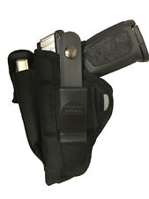 Fit Glock 31 or 33 Gun Holster PRO-TECH OUTDOORS Black Nylon Ambidextrous