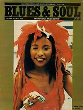 Chaka Khan on Blues & Soul Magazine Issue 164 Cover 1975   New Birth  Linda Carr