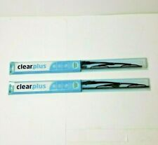 "2-Pack ClearPlus Windshield Wiper Blade Pro All Metal Frame 22"" 14221 SHIPS FREE"