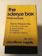 """Vintage """"The Science Box"""" Educational Insights Teacher Resource Home School"""
