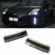 Direct Fit 370Z Style White LED Daytime Running Lights For 06-09 Nissan 350Z LCI
